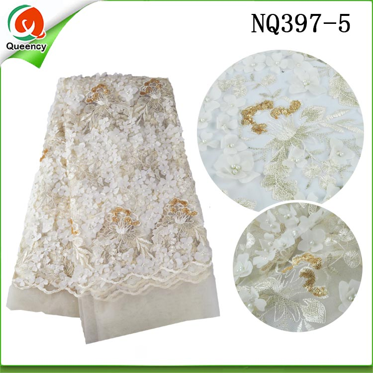 3d beads lace