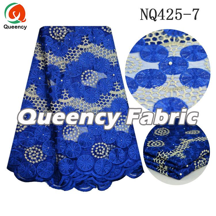 Lace Fabric African Tulle High Quality