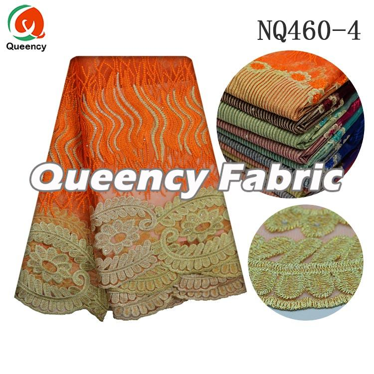 Orange French Fabric