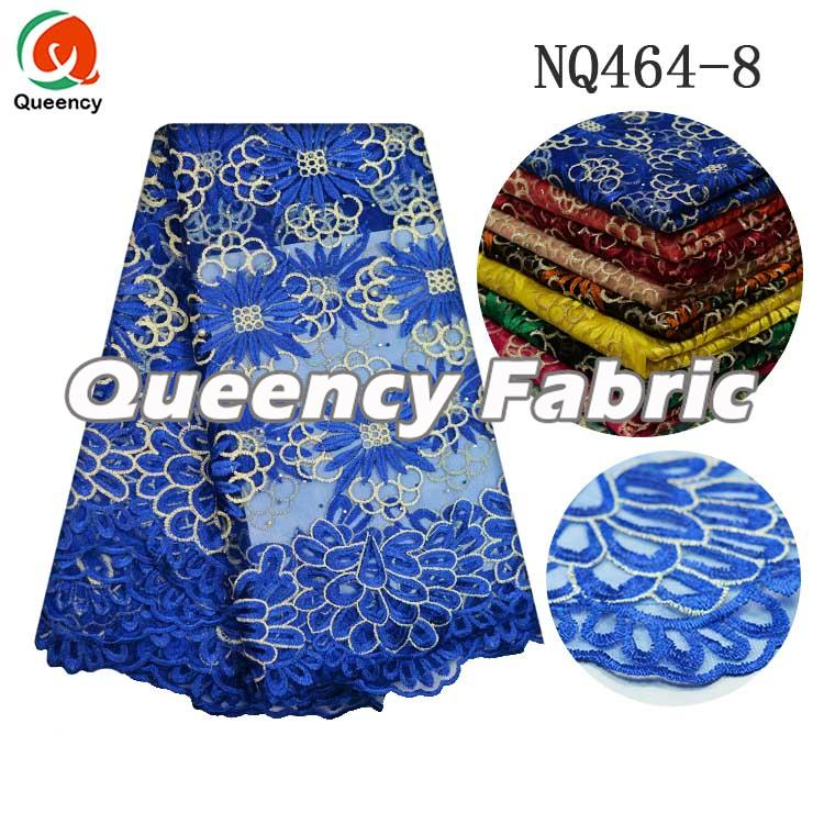 Royal Blue Netting Fabric