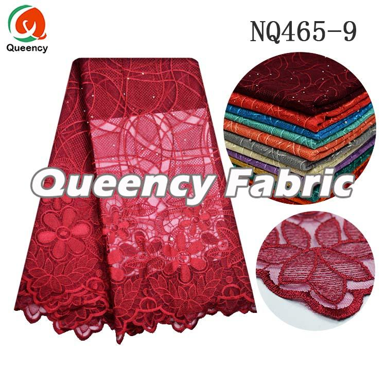 Wine Netting Material Embroidery