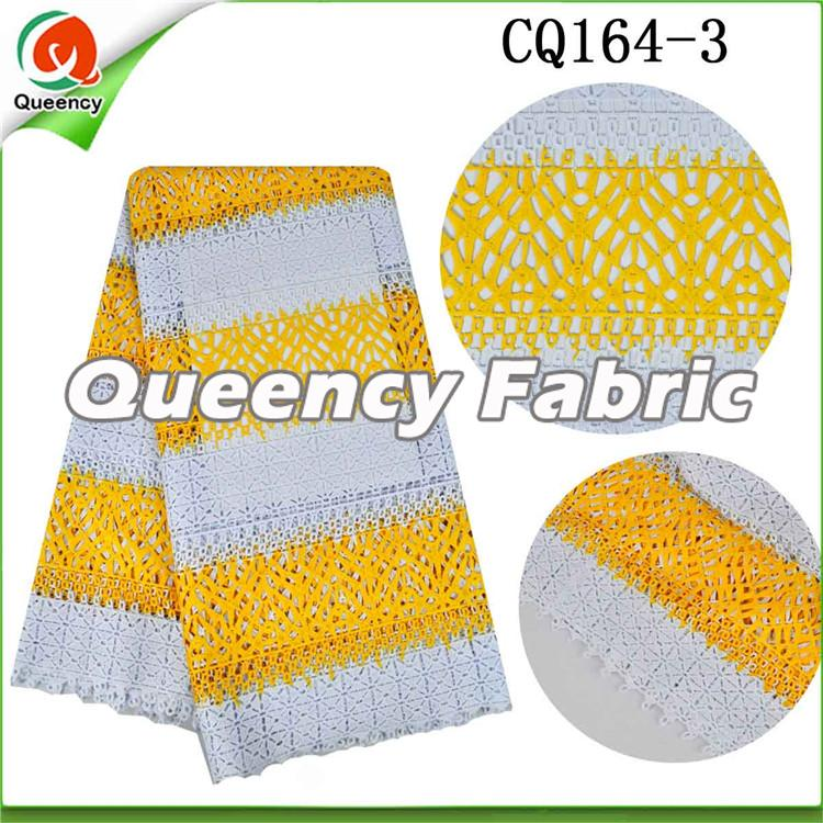 Nigeria Cupion Material In Yellow