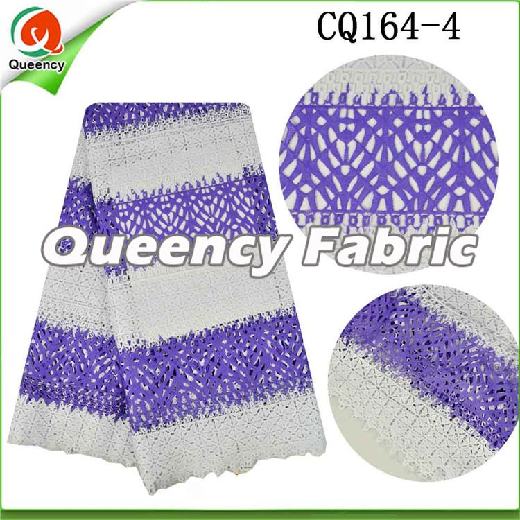Lilac Water Soluble Chantilly Lace