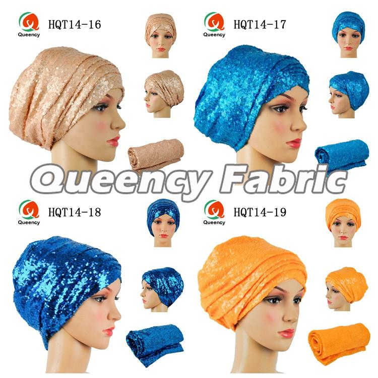 Sequins Turbans Muslim Headband