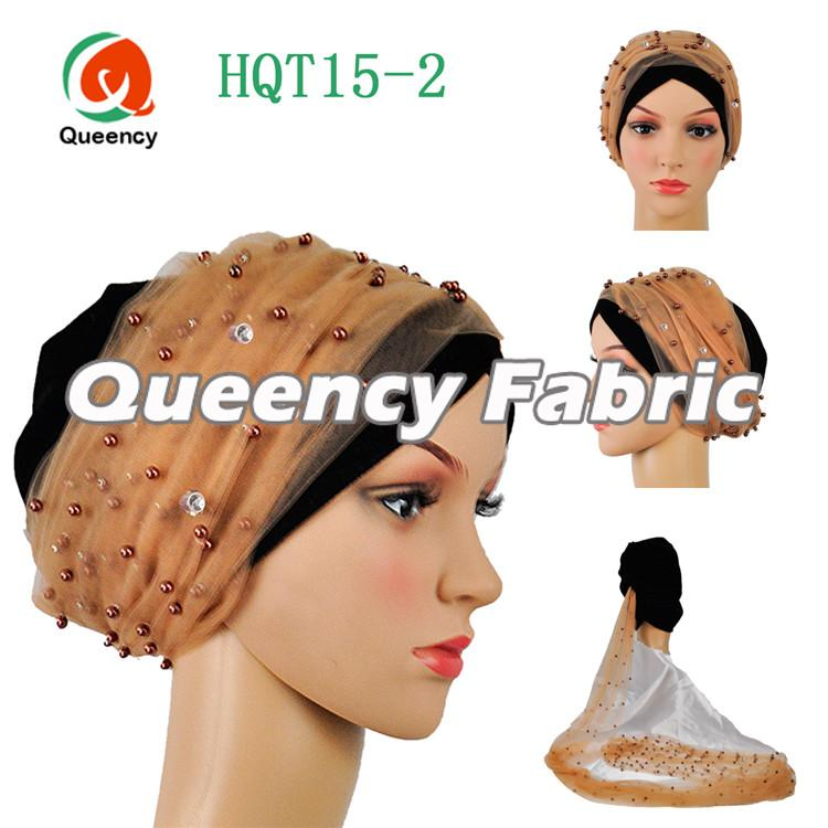Beaded India Hijab Turban