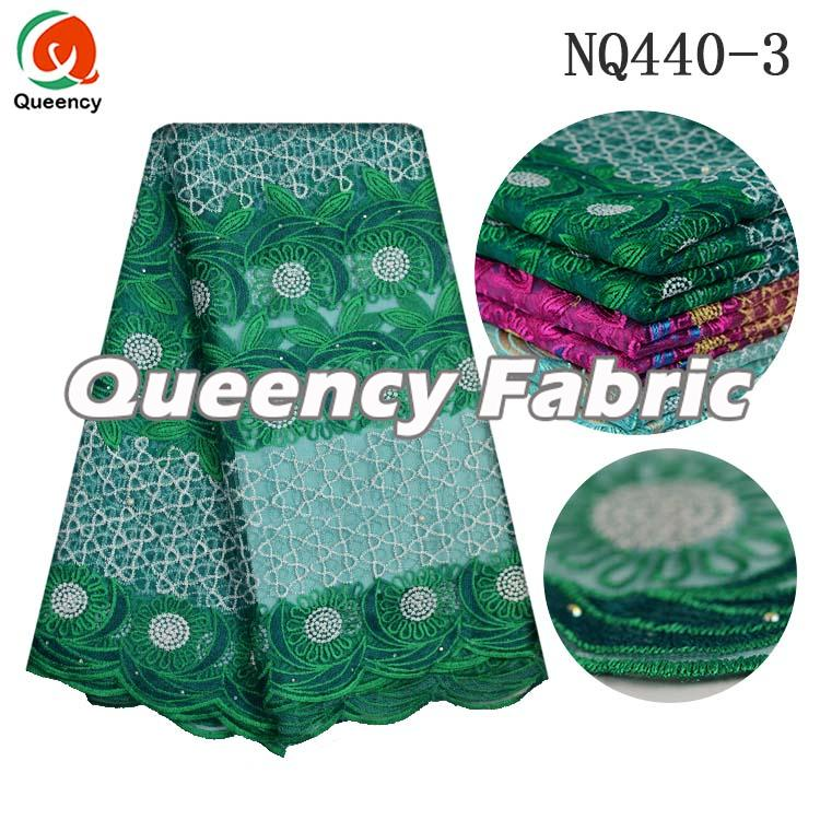 Dubai French Lace In Green