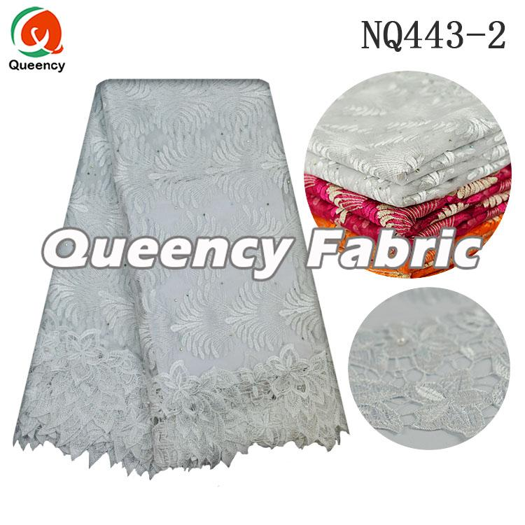 Frebch Fabric Lace In White