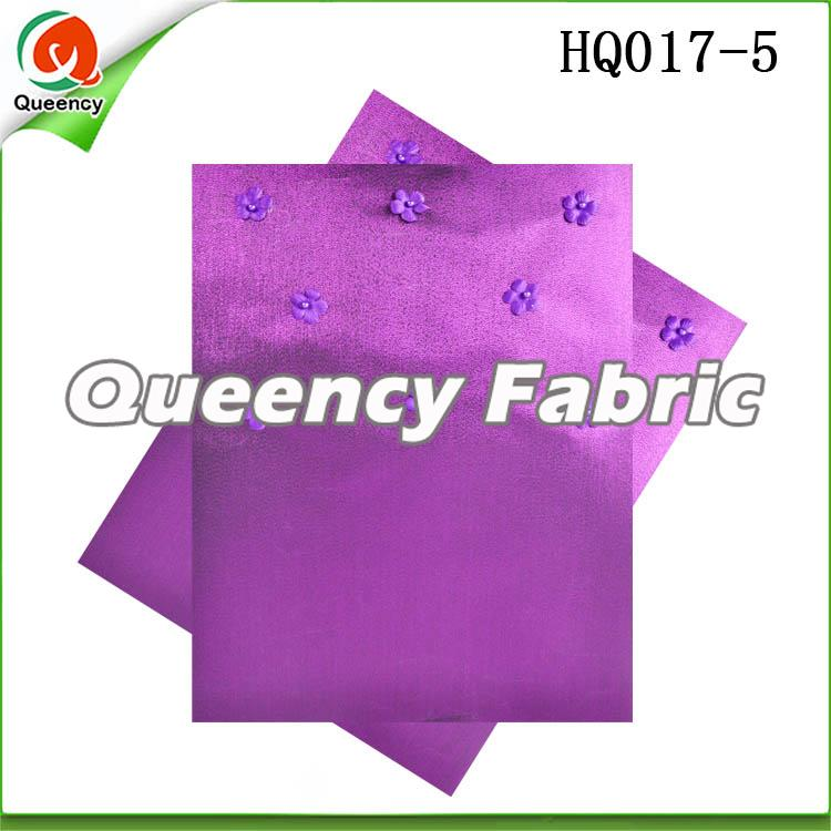 Purple Sego Gele Wrapper