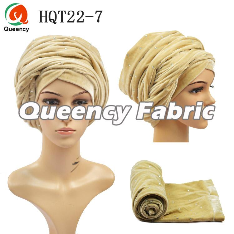 Turban Hat In Champagne