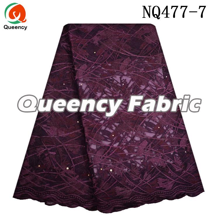 Dark Wine Netting Lace