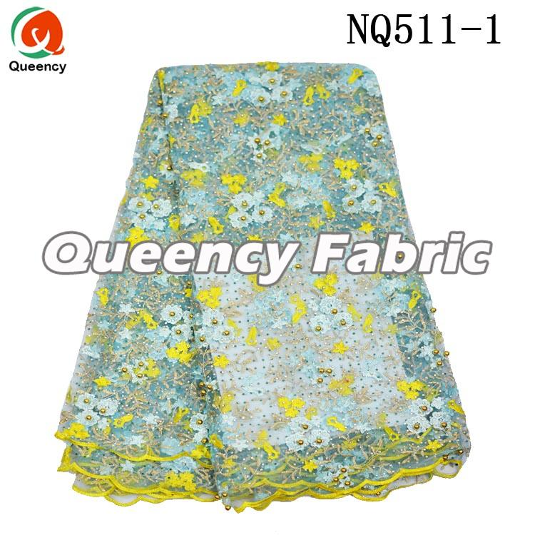 African Embroidered Tulle Lace Fabric
