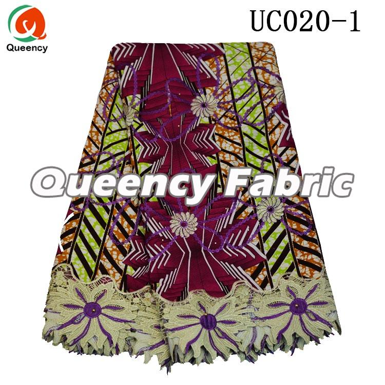 Wax Print Lace Fabric African