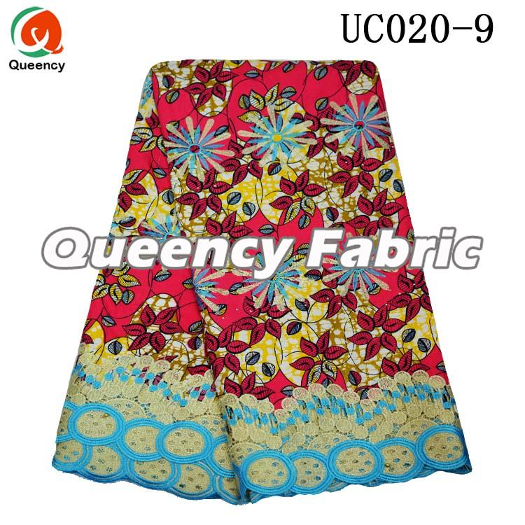 African Print Lace Fabric