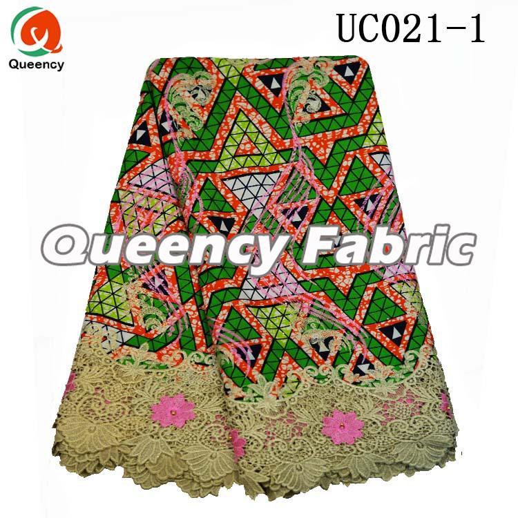 Cotton Fabric Textile Printing Wax Lace