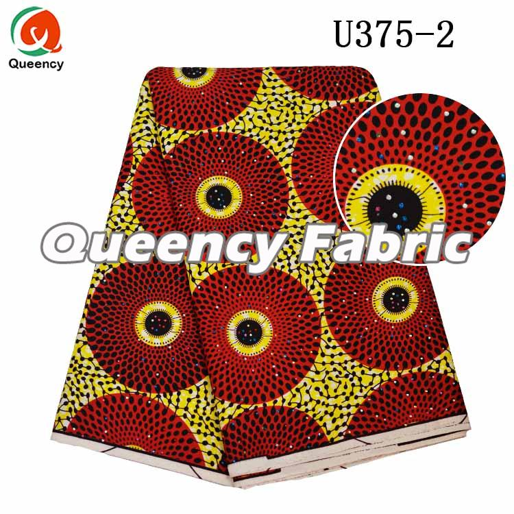 African Ankara Ladies Bridal Dresses With Stones