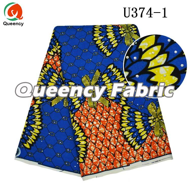 Wax Prints Ankara Stones Fabric