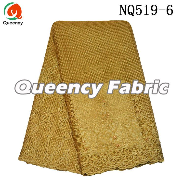 Gold High Quality French Lace