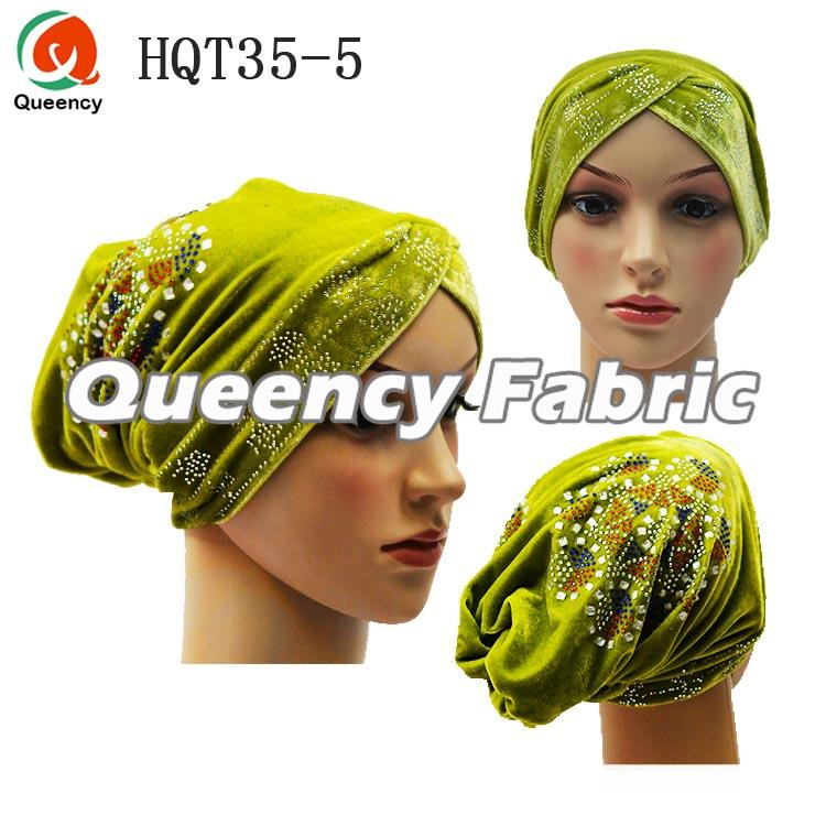 Lemon Muslim Ladies Turban Headband