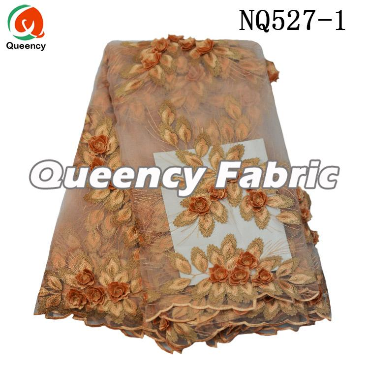 3d Applique Net Lace Fabric