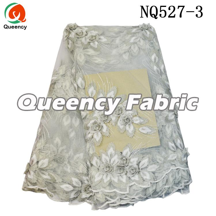Tulle Lace 3D Applique Fabric