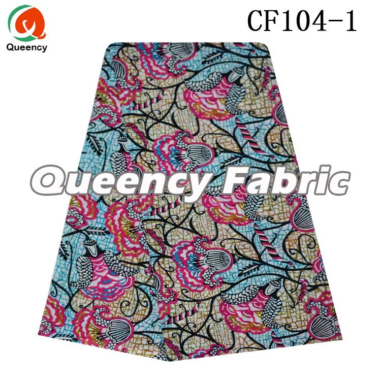 Chiffon Fabric Wax Printed