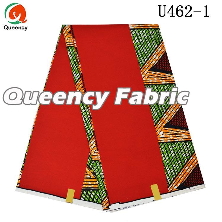 Red Nigeria Wax Material