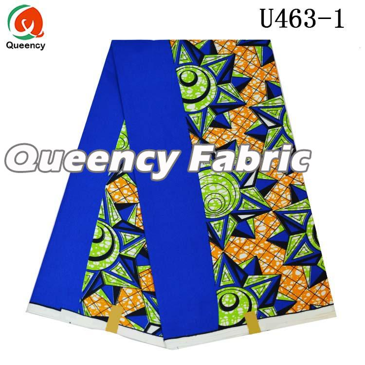 Blue Nigeria Wax Ankara Fabric