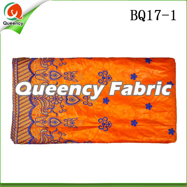 Guinea Brocade Embroidered Fabric