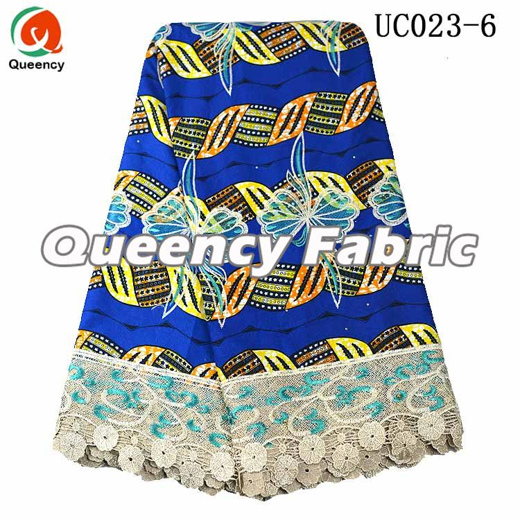 Wax Ankara Lace Fabric