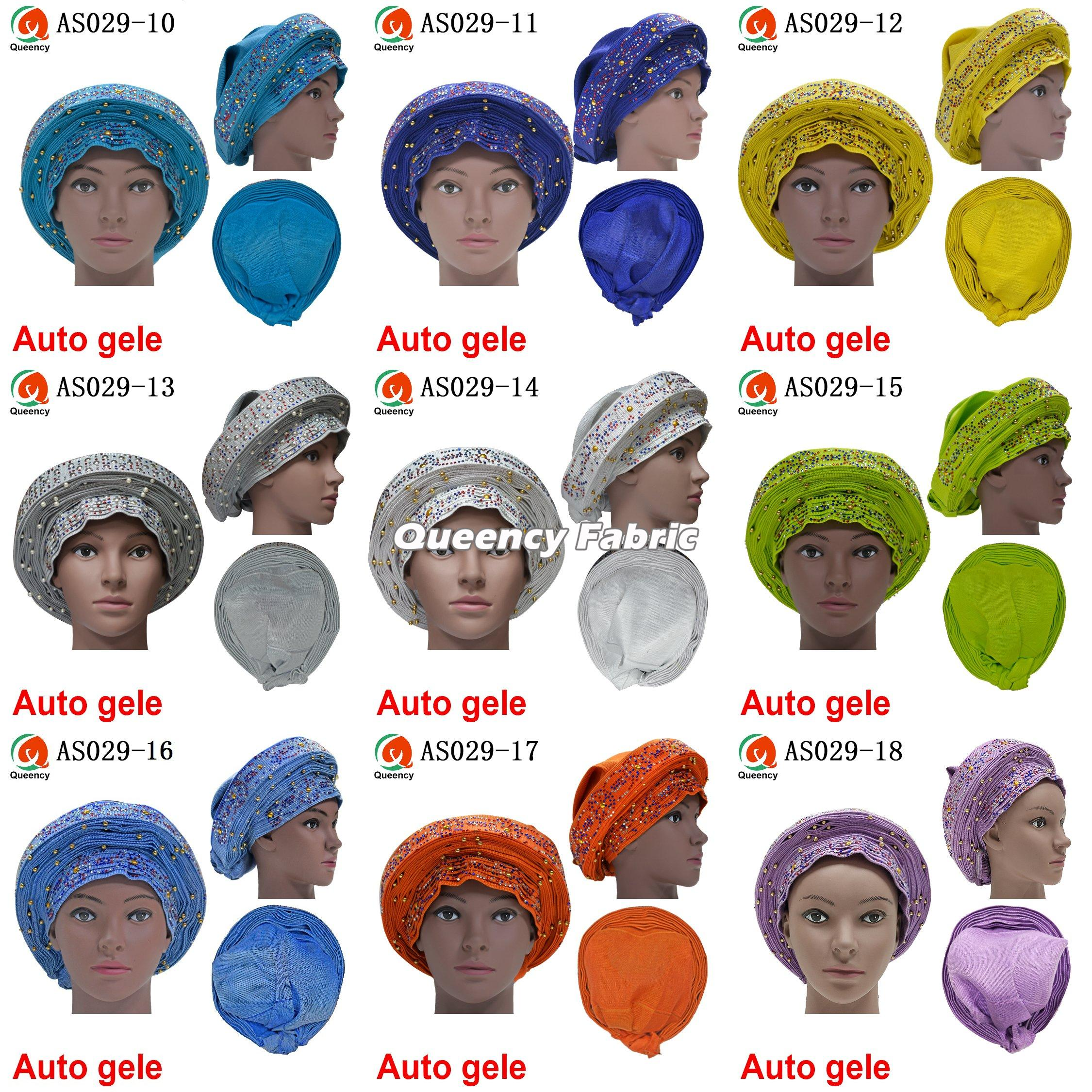 Nigeria Wrapper Headtie Fabric