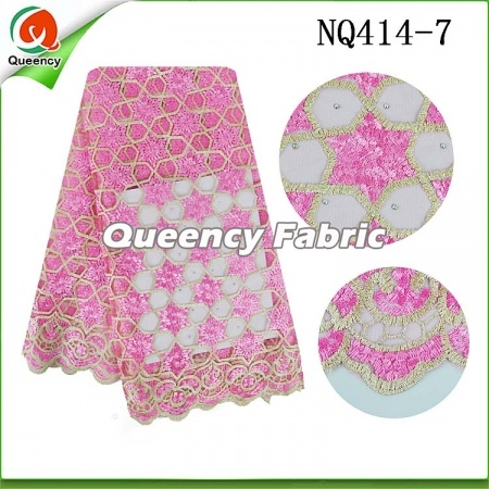 Tulle Lace Fabric African French Net