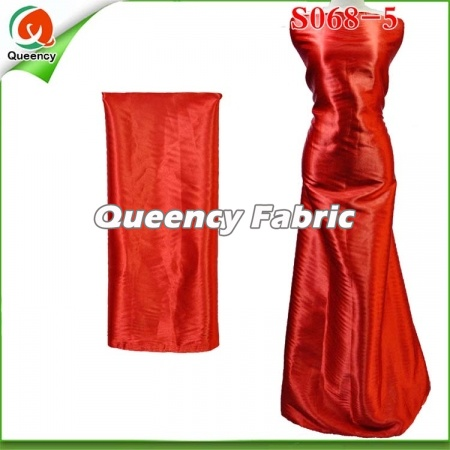 African Pure Satin Silk Fabric