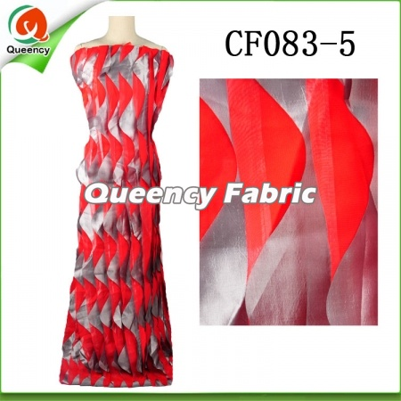 Soft Two Tone Fabric Chiffon