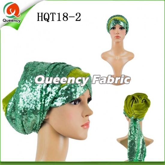 Sequins Muslim Headtie Women Turbans