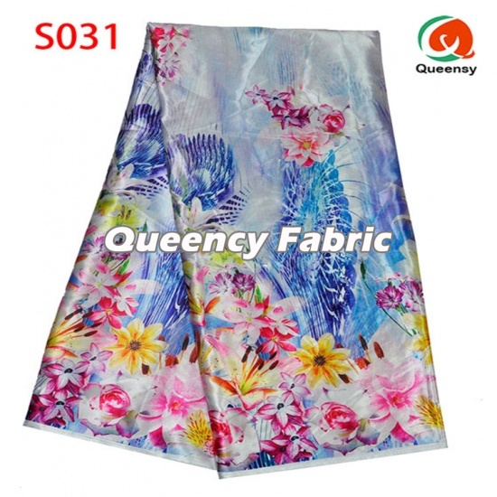 Fashion Printing Satin Silk Style