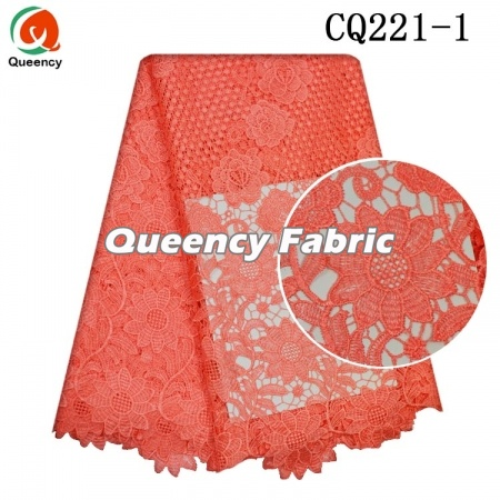 wasserlöslich Chantilly Nigeria plain lace