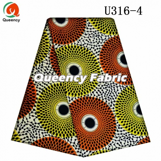 African Wax Printing Fabric