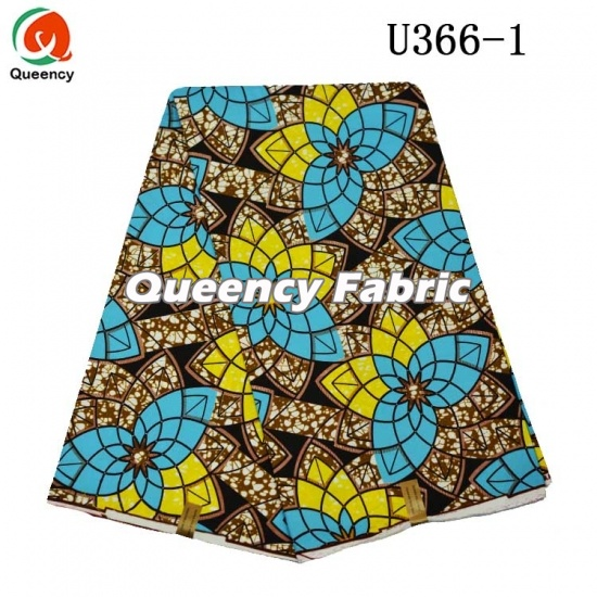 African Wax Fabric Printing Style
