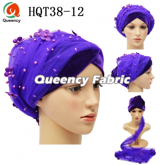 African Muslim Fashion Turban Headtie Bonnet