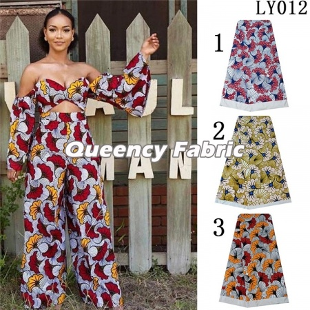 Fashion African Lycra Prints Strentch Fabric