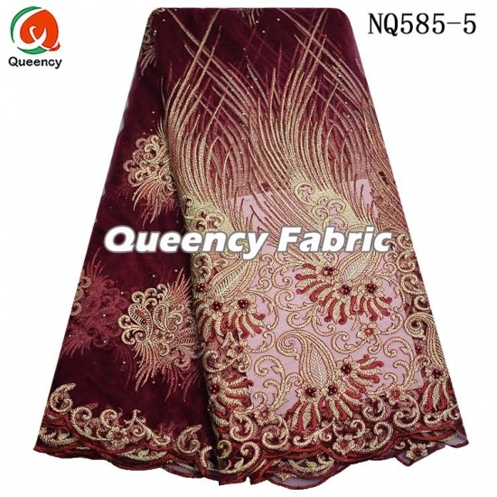 African French Lace Cotton Embroidery