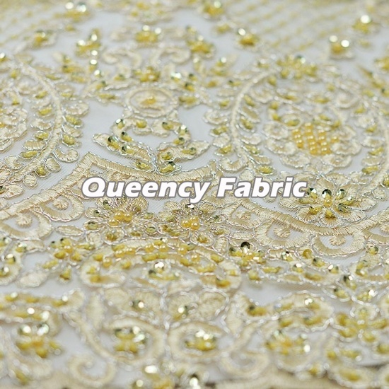Aso Ebi Heavy Handmade Tulle French Lace