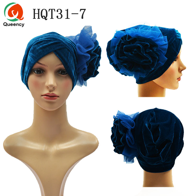 Musselin Damen Turban Stirnband